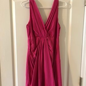 Hot pink H&M cocktail dress